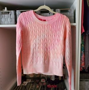 Lilly Pulitzer Pelican Pink Dream Tie Dye Sweater